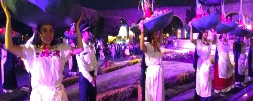 Con gran desfile, Morelia recuerda 478 años de historia