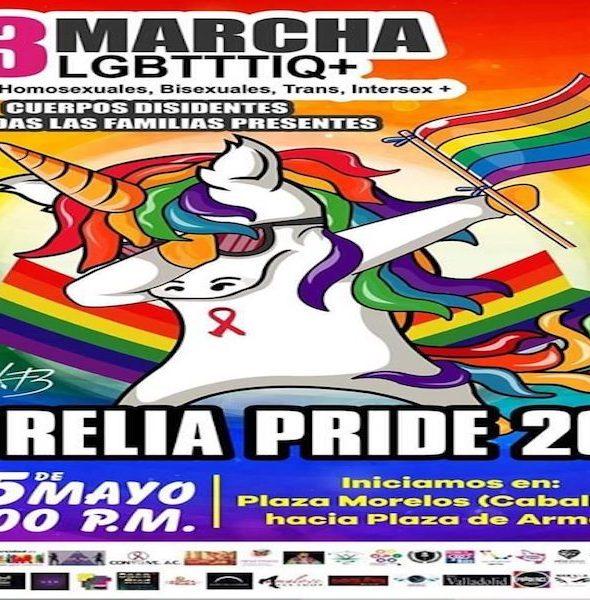 13ª Marcha LGBTI+ Michoacán 2019