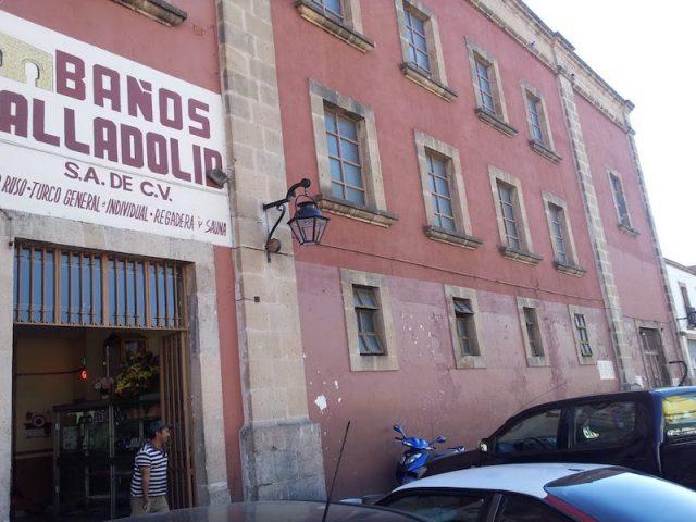 Baños Valladolid Morelia