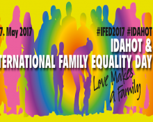 17 de mayo: Día Internacional Contra la Homofobia, Bifobia, Transfobia y de la Igualdad Familiar